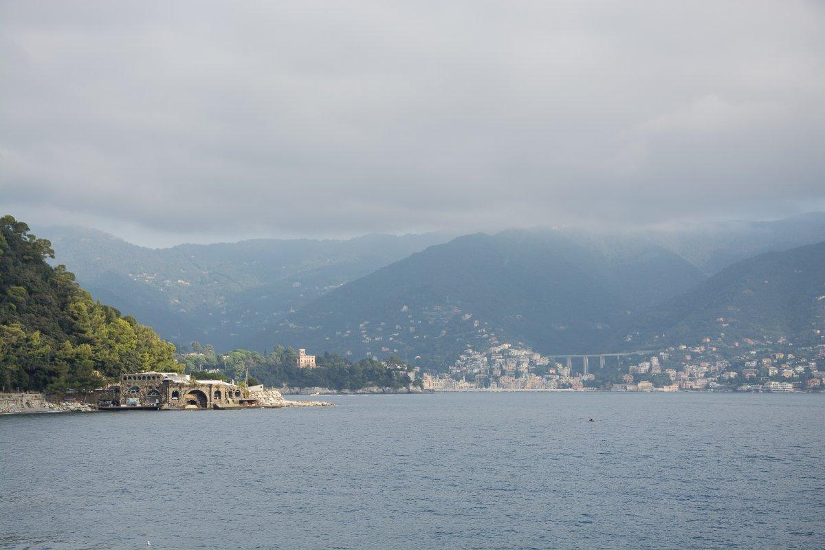 Blick auf Rapallo - Gehen mit Yemanja