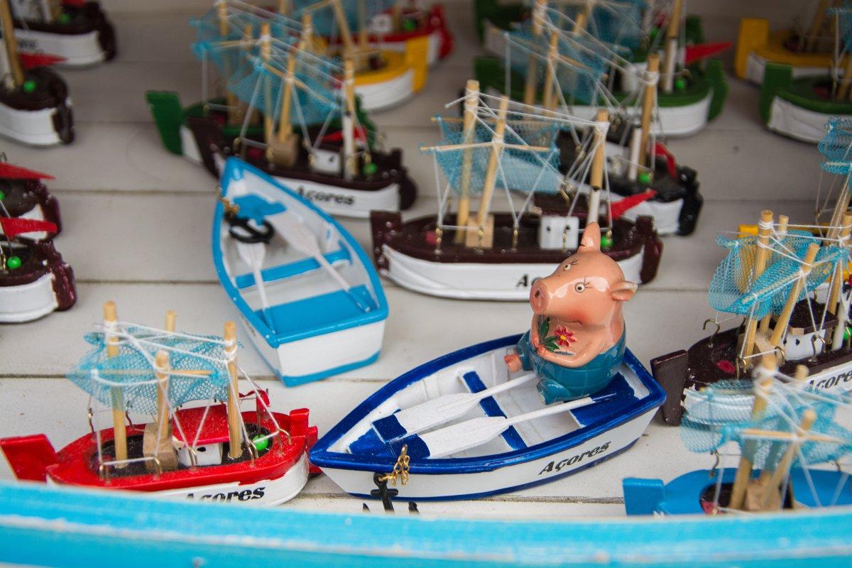 Maskotten Gustav bereist die Welt - www.sy-yemanja.de