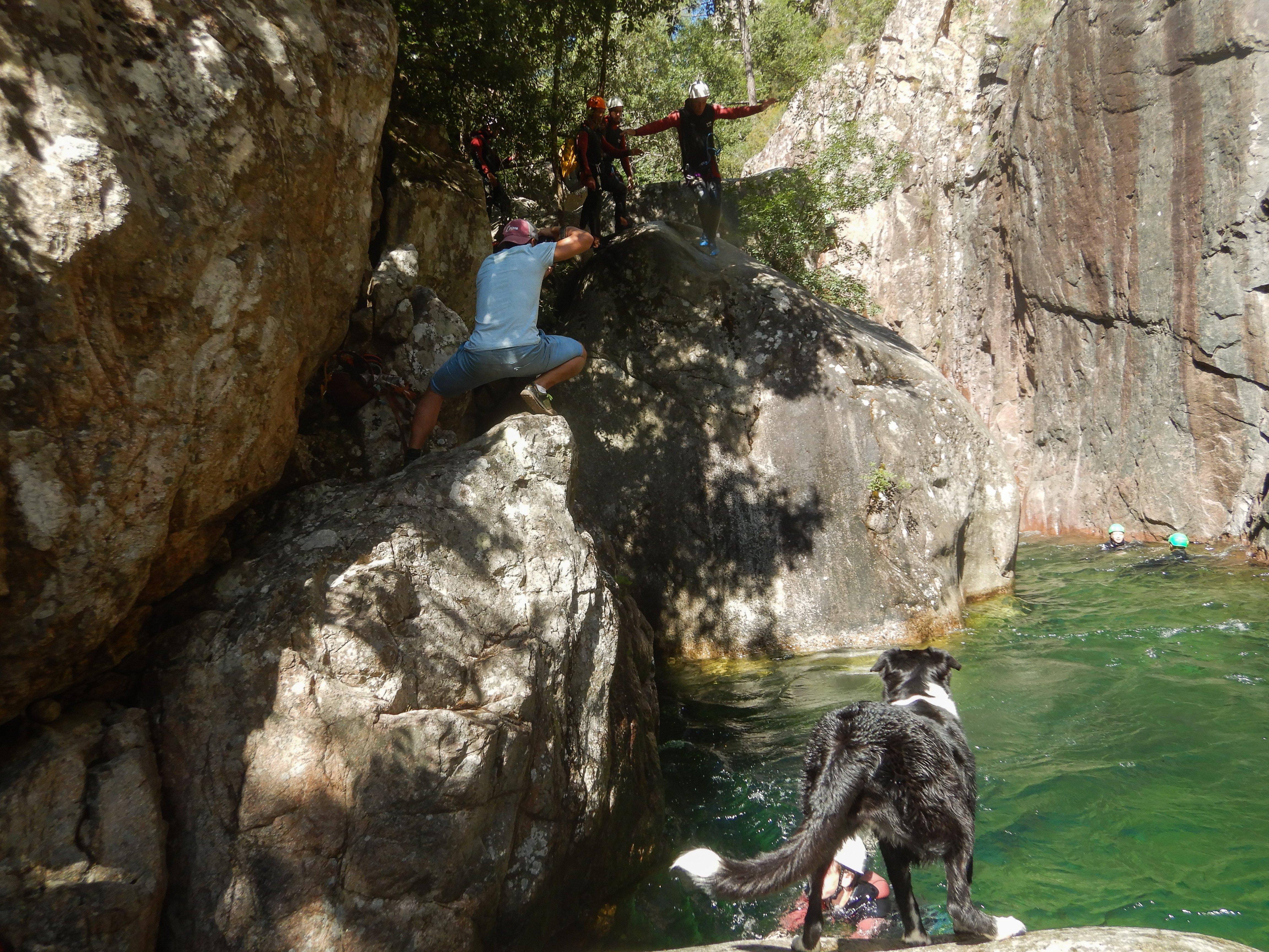 Canyoning Pulischellu, www.sy-yemanja.de