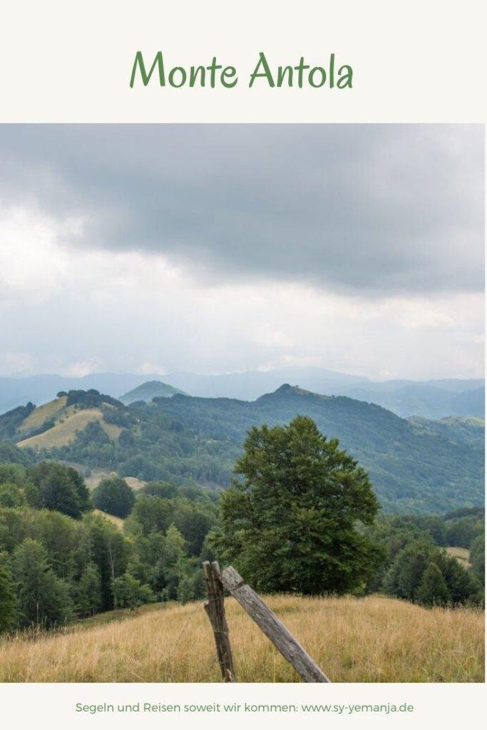 Wanderung am Monte Antola
